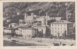 SAN PELLEGRINO TERME-BERGAMO-VIA BERNARDO TASSO-CARTOLINA VIAGGIATA IL 21-8-1937 - Bergamo