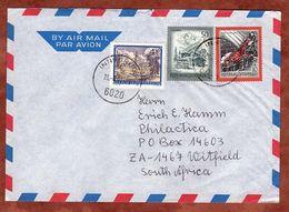 Luftpost, MiF Basilisk U.a., Innsbruck Nach Witfield 2001 (70909) - 1945-.... 2. Republik