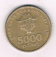 5000 DONG 2003  VIETNAM /2358/ - Viêt-Nam