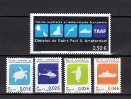 TAAF Poste 741/745 NEUFS** TRES BEAUX - Neufs