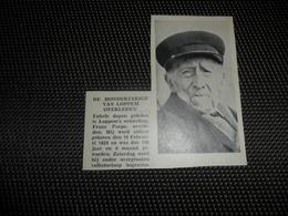 """Origineel Knipsel ( 2702 ) Uit Tijdschrift """" Ons Volk """"  1934 :  100 - Jarige  Honderdjarige  Lophem  Loppem - Oude Documenten"""