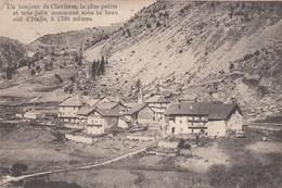 CLAVIERES-TORINO-IL PIU PICCOLO E PITTORESCO COMUNE D'EUROPA-CARTOLINA VIAGGIATA IL 4-8-1911 - Italia