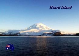 Antarctica Heard Island View UNESCO New Postcard - Postcards