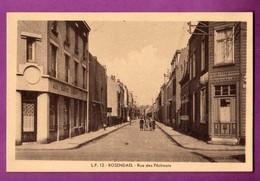 CPA - 59 - DUNKERQUE / ROSENDAEL - LA RUE DES PECHEURS / CAFE AUX QUATRE CHEMINS - Dunkerque
