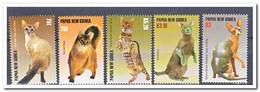 Papoea Nieuw Guinea 2005, Postfris MNH, Cats - Papoea-Nieuw-Guinea