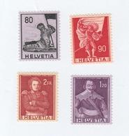 SUISSE N° 612/615 **   Cote 17,00  Euros - Unused Stamps