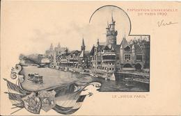 Carte Précurseur - EXPOSITION UNIVERSELLE DE PARIS 1900 - LE VIEUX PARIS - Expositions