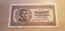 Serbien 50 Dinara 1942 - Serbie