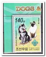 Noord Korea 2006, Postfris MNH, Cats, Dogs - Korea (Noord)