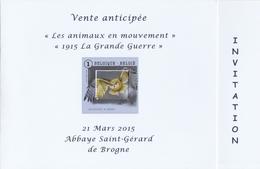 BUZIN  LE HIBOU GRANDDUC - 1985-.. Oiseaux (Buzin)