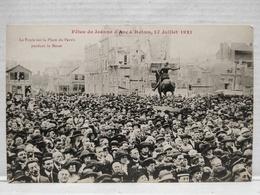 Reims. Fêtes De Jeanne D'Arc. 17 Juillet 1921. Place Du Parvis - Reims