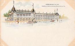 Carte Précurseur - EXPOSITION UNIVERSELLE  De 1900 - Palais Des Forêts, Chasse, Pêche Et Cueillette - Expositions