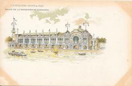 Carte Précurseur - EXPOSITION UNIVERSELLE  De 1900 - Palais De La Navigation De Commerce - Expositions
