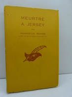 RENARD  MAURICE-CH ,MEURTRE À JERSEY N° 611 - Le Masque - 1958(cai50) - Autres