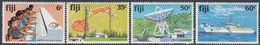 Fiji 1981 - Telecommunications: Microwave Station, Satellite Earth Station, Cableship - Mi 439-442 ** MNH - Fidji (1970-...)