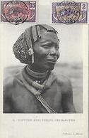 AFRIQUE - COIFFURE AVEC PERLES DES BANZIRIS - Centrafricaine (République)