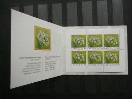 Flowers # Latvia Lettland Lettonie # 2005 MNH # Mi. 632D Booklet - Lettonie
