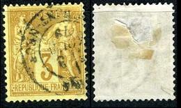 France Classique, N°86 Oblitéré, Qualité Beau - 1876-1898 Sage (Type II)