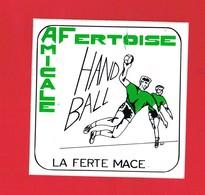 1 Autocollant SPORT  LA FERTE MACE HAND BALL AMICALE FERTOISE - Autocollants