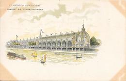 Carte Précurseur - L'EXPOSITION UNIVlle De  1900 - Palais De L'Horticulture - Expositions