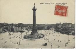 CPA 75 ( Paris ) - PARIS - La Place De La Bastille - Places, Squares