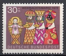 Germania 1972 Sc. B495 Natale Christmas Adorazione Magi - Adoration Kings MNH Germany - Quadri
