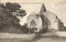 Cpa Marans  Ancienne Eglise St Etienne - France