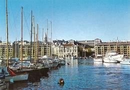 13. CPM. Bouches-du-Rhône. Marseille. Le Vieux Port Et La Mairie - Vieux Port, Saint Victor, Le Panier