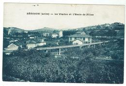 NERONDE - Le Viaduc Et L'école Des Filles - Circulée 1927 - Bon état - France