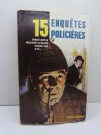 15 Enquêtes Policières , Connan Doyle, Leblanc, Poe ...(cai50) - Autres