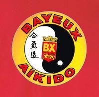 1 Autocollant AIKIDO BAYEUX - Autocollants