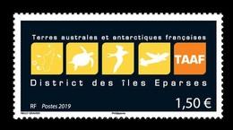 TAAF 2019 Mih. 1053 Symbolic Of Scattered Islands. Fauna. Turtle. Bird. Aviation. Plane MNH ** - Terres Australes Et Antarctiques Françaises (TAAF)