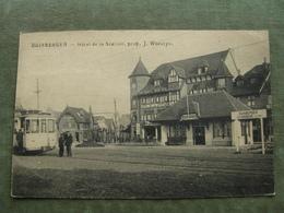 DUINBERGEN - HOTEL DE LA STATION 1920 ( Tram - Scan Recto/verso ) - Heist