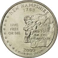 Monnaie, États-Unis, Quarter, 2000, U.S. Mint, Denver, SPL, Copper-Nickel Clad - Emissioni Federali