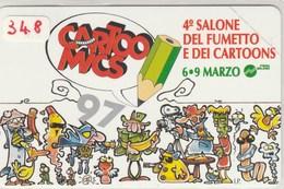 PRIVATE RESE PUBBLICHE -SCHEDA TELEF. CATALOGO  GOLDEN N°. 348  -  COME FOTO - N U O V A - Italia