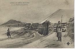 CPA MILITARIA - SCENES Du SIEGE De PARIS - La Bastion 63 A AUTEUIL ( Potages MAGGI ) - Militari
