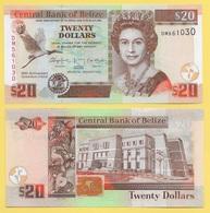 Belize 20 Dollars P-72 2012 Commemorative UNC Banknote - Belize
