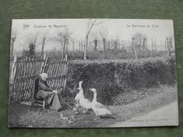 NIEUWPOORT - LA GARDEUSE DU CLOS 1912 ( Scan Recto/verso ) - Nieuwpoort