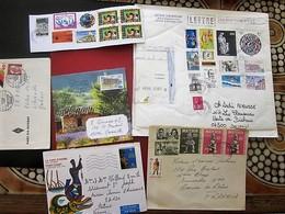 Timbres France 6 Blocs & Feuillets Oblitérés S Carton Envoi Colis Postaux-Lettres Grand & Petit Formats Prio Voir Scanns - Blocs & Feuillets