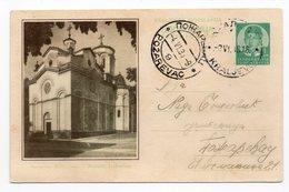 1938 Monastery Ljubostinja Serbia Yugoslavia Illustrated Used Postcard - Yougoslavie