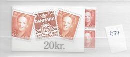 1992 MNH Danmark, Booklet Postoffice Nr H37 - Carnets