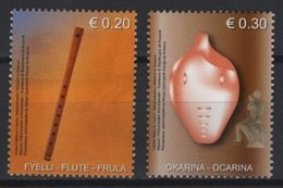 Kosovo (2004) Yv. 20/21  /  Music - Musique - Musical Instruments - Musique