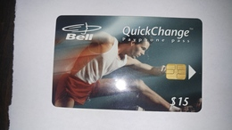 Canada-(b20012)-sports Series-hurdler-(8)-(15$)-tirage-30.000-used Card+1card Prepiad Free - Canada