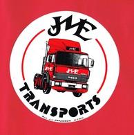 1 Autocollant IVECO TRANSPORTS Camion Grand Diamètre 18 Cm - Autocollants