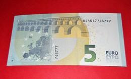 5 EURO U004 E5 FRANCE U004E5 - UE40 777 43 777 - UNC FDS NEUF - EURO