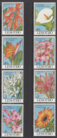 1993 Lesotho Flowers Fleurs Complete Set Of  8 MNH - Lesotho (1966-...)
