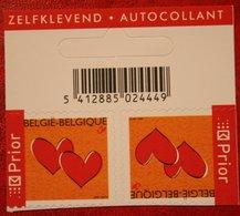 Wenszegels Herz Hart Heart OBC N° 3401 (Mi 3449) 2005 POSTFRIS MNH ** BELGIE BELGIEN / BELGIUM - Belgien