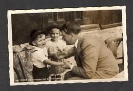 S/w Ak  Serie,  Photo Hoffmann Nr. 659 ,  Die Kleinen Geschwister Beim Kanzler - Germany