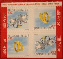 Wenszegels  Ring Dove Bird OBC N° 3402-3403 (Mi 3450-3451) 2005 POSTFRIS MNH ** BELGIE BELGIEN / BELGIUM - Belgien