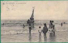 ! - Belgique - Blankenberghe - Une Excursion En Mer - Nombreux Jeunes Enfants En Bord De Mer - Blankenberge